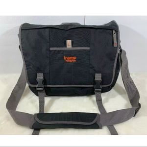 Trans by Jansport Laptop Messenger Bag Briefcase
